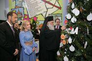 Ο Αρχιεπίσκοπος Ιερώνυμος βρέθηκε στο πλευρό των παιδιών της Ογκολογικής Μονάδας Παίδων