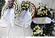 Συγκίνηση στην κηδεία της Μαριάννας Τόλη
