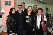 Πάτρα - Ο Κώστας Πελετίδης αντάλλαξε ευχές με τους εργαζόμενους του Δήμου (φωτο)
