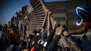 Περίπου 100 μετανάστες αποπειράθηκαν να περάσουν από το Μεξικό στις ΗΠΑ!