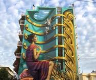 'H Αλίκη στη χώρα των θαυμάτων' - Το mural της Πάτρας, που μαγνητίζει τα βλέμματα! (video)
