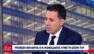 N. Μανιαδάκης: 'Μου ζητήθηκε να πω ότι πήραν χρήματα Σαμαράς, Γεωργιάδης και Στουρνάρας'
