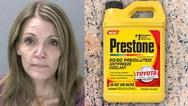 Προσπάθησε να δηλητηριάσει τον άνδρα της βάζοντας αντιψυκτικό στο κρασί (video)
