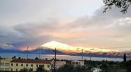 Χιόνια απέναντι από την Πάτρα - Στα 'λευκά' η Παλιοβούνα και η Βαράσοβα (pics)