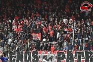 'Καμίνι' μες στο κρύο η Αγυιά στην Πάτρα - Οι οπαδοί της Παναχαϊκής 'ζεσταίνονται' για τον ΠΑΟΚ