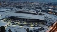 Η χιονισμένη Αττική από ψηλά (video)