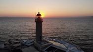 Η Πάτρα την ώρα που ο ήλιος δύει! (video)