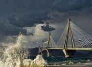 Κλειστό το Ρίο - Αντίρριο λόγω ισχυρών ανέμων