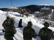 ΓΕΣ: Δραστηριότητες Στρατού Ξηράς κατά την πρόσφατη κακοκαιρία (φωτο)