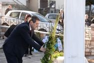Αχαΐα: Η Δημοτική αρχή τίμησε τους εκτελεσθέντες στα Σελλά (pics)