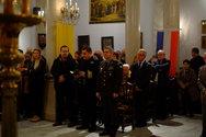 Ο Γαλλίας Εμμανουήλ στα αποκαλυπτήρια του πιστοποιητικού βαπτίσεως του Παύλου Μελά (φωτο)