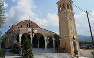 Πάτρα - Φωτιά στον Ιερό Ναό Αγίας Ειρήνης στον Ριγανόκαμπο