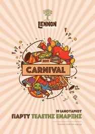 Πάρτι έναρξης Πατρινού καρναβαλιού στο Lennon