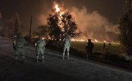 Τουλάχιστον 21 νεκροί από την πυρκαγιά σε πετρελαιαγωγό στο Μεξικό (φωτο+video)