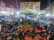Τελετή έναρξης 'express' και φιάσκο -  'Βροχή' τα καυστικά σχόλια των Πατρινών