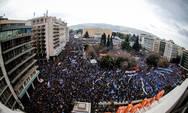 'Σκηνές ρίγους' - Πατρινός μιλάει για την εμπειρία του στο συλλαλητήριο στην πλατεία Συντάγματος