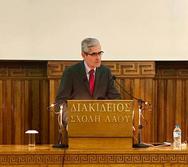 Με επιτυχία διεξήχθη η ομιλία του Άγγελου Τσιγκρή στην Πάτρα (φωτο)