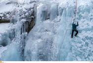 Σέρρες: Αναρρίχηση στον πάγο στο δάσος του Λαϊλιά (pics)