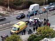 Σοβαρό τροχαίο ατύχημα στις γραμμές της Βενιζέλου (φωτο+video)