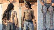 Ινδία: 'Εκανε τατουάζ 442 λογότυπα εταιρειών για να μπει στα Ρεκόρ Γκίνες! (video)