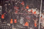 Οι οπαδοί της Παναχαϊκής και o... χορός της βροχής μέσα στην Τούμπα! (pics)