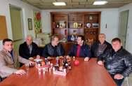 Πύργος -  Επίσκεψη του Αντιπεριφερειάρχη, Κώστα Μητρόπουλου στην Ομάδα Παραγωγών «ΑΛΦΕΙΟΣ-ΡΟΔΙ»