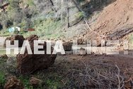 Δυτική Ελλάδα: Μεγάλη κατολίσθηση στο φράγμα Αλφειού - Έκλεισε ο δρόμος