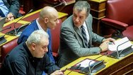 Άγριο επεισόδιο ανάμεσα στον Θεοδωράκη και τον Ψαριανό στη Βουλή