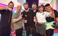 Οι 'Alcatrash' από την Πάτρα 'σκίζουν' μαζί με τον Νίκο Μουτσινά στην τηλεόραση!