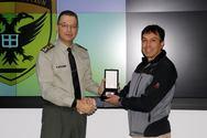 ΓΕΣ: Βραβεύτηκε ο αντισυνταγματάρχης Αθ. Κατσαντώνης (φωτο)