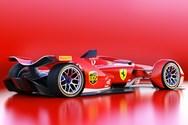 Έτσι θα μοιάζει η πρώτη ηλεκτρική φόρμουλα της Ferrari! (φωτο)