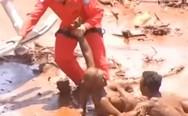 Βραζιλία: Ψάχνουν ζωντανούς στη λάσπη (video)