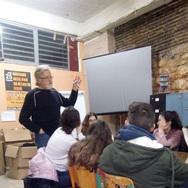 Μαθητές του 5ου ΓΕΛ Πάτρας επισκέφτηκαν το στέκι της Κίνησης Προσφύγων και Μεταναστών