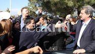Eργαζόμενοι του ΠΑΓΝΗ μπλόκαραν την είσοδο του αυτοκινήτου του Πολάκη