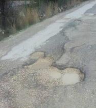 Πάτρα: Σχεδόν απροσπέλαστος ο δρόμος της Ειρήνης και Φιλίας στα Δεμένικα (pics)
