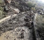 Ηλεία: Πλημμύρες και κατολισθήσεις από την κακοκαιρία (φωτο)