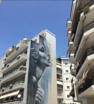 Η πιο... εξπρεσιονιστική τοιχογραφία της Πάτρας είναι στην οδό Πάφου (video)