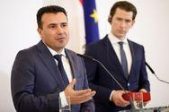 Ζάεφ από Αυστρία: «Μακεδονία τώρα, Βόρεια Μακεδονία... προσεχώς»