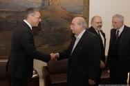 Ο Νίκος Βούτσης συναντήθηκε με τον νέο Πρέσβη της Τουρκίας