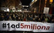 Συνεχίζονται οι διαδηλώσεις κατά του Βούτσιτς στη Σερβία