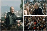 Όταν 20.000 Πατρινοί είχαν σηκώσει στα χέρια τους τον Ανδρέα Παπανδρέου (video)