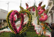 Το άνθινο άρμα του Πατρινού Καρναβαλιού θα φέρει την άνοιξη - Το κοσμούν 45.000 λουλούδια