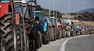 Οι αγρότες έκλεισαν την Πατρών - Αθηνών