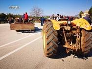 Αργολίδα: Οι αγρότες απέκλεισαν την Ε.Ο. Ναυπλίου - Μυκηνών (pics)