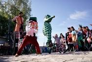 Πάτρα - Γέμισαν χρώματα και παιδικές φωνές οι Ιτιές (pics)