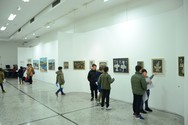 Ολοκληρώθηκε η παρουσίαση της έκθεσης του Γιάννη Κολέφα στην Πάτρα (φωτο)