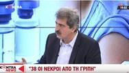 Πολάκης για γρίπη: 'Δεν είναι και καμία καταστροφή, μην τρελαθούμε κιόλας' (video)