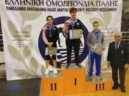 Xάλκινo μετάλλιo στο πανελλήνιο πρωτάθλημα ανδρών - γυναικών για τον Σύλλογο 'Πολυνίκη'