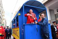 Γεύση σοκολατοπόλεμου και Πατρινού Καρναβαλιού στα αθηναϊκά τηλεοπτικά κανάλια!