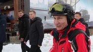 Πούτιν και Λουκασένκο κάνουν μαζί σκι